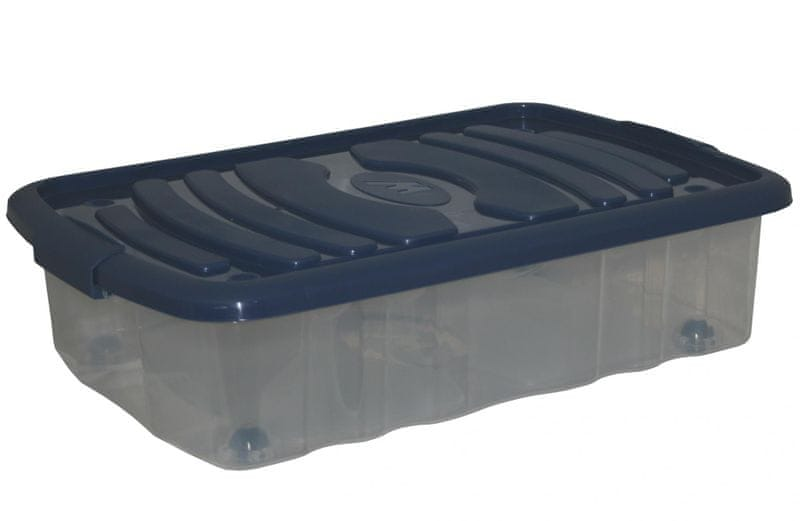 Mazzei Úložný box na kolečkách MINI BED - 22,5 litru modrá