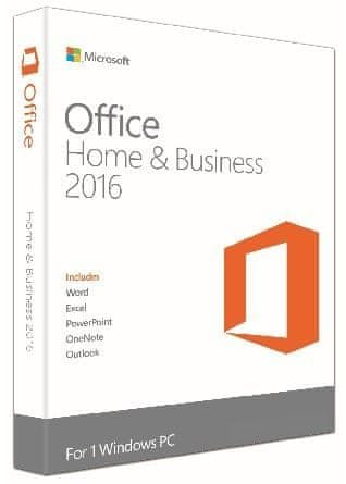 Microsoft Office 2016 pro domácnosti a podnikatele (T5D-02737)