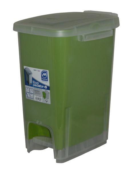 Mazzei Koš na odpadky ECODUALFACE 16l zelená