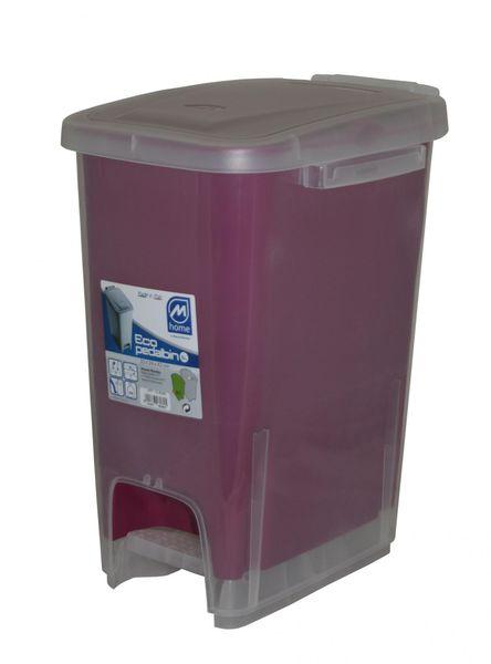 Mazzei Koš na odpadky ECODUALFACE 16l fialová