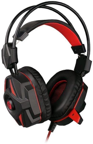 C-Tech Kalypso (GHS-04R), černo-červená