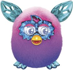 Furby Boom Sweet Crystal purple ombre