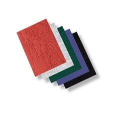 Zadní strana - imitace kůže /100ks červená A4/250 g