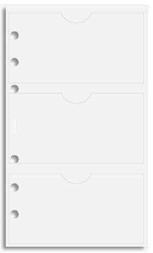 Náhradní náplň do diáře Filofax Osobní na vizitky - 6 kapes