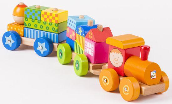 Bino Vlak s domčekmi