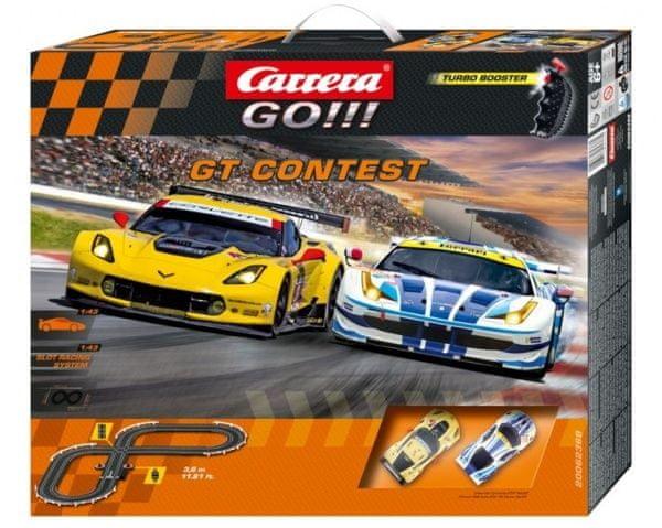 Carrera Autodráha GO GT Contest
