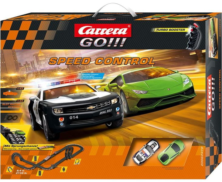 Carrera Autodráha GO Speed Control