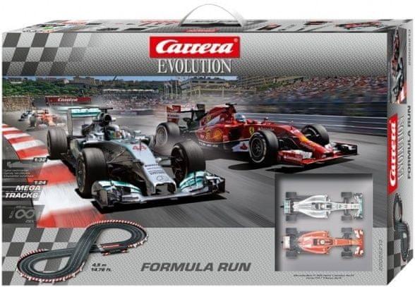 Carrera Autodráha EVO Formula Run