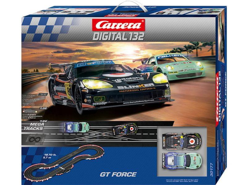 Carrera Autodráha D132 GT Force