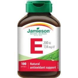 JAMIESON Vitamín E 200 IU cps.100