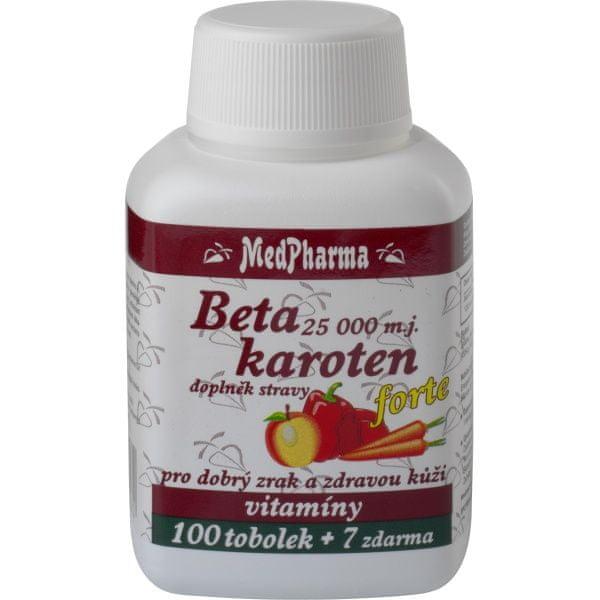 MedPharma Beta karoten 25 000 m.j. tob.107