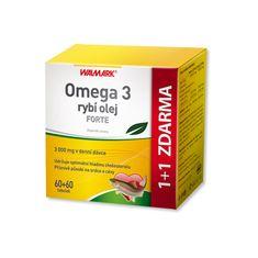 Walmark Omega 3 rybí olej Forte tob.120+120
