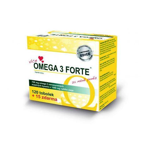 Omega 3 FORTE tob.120+15 limitovaná edice