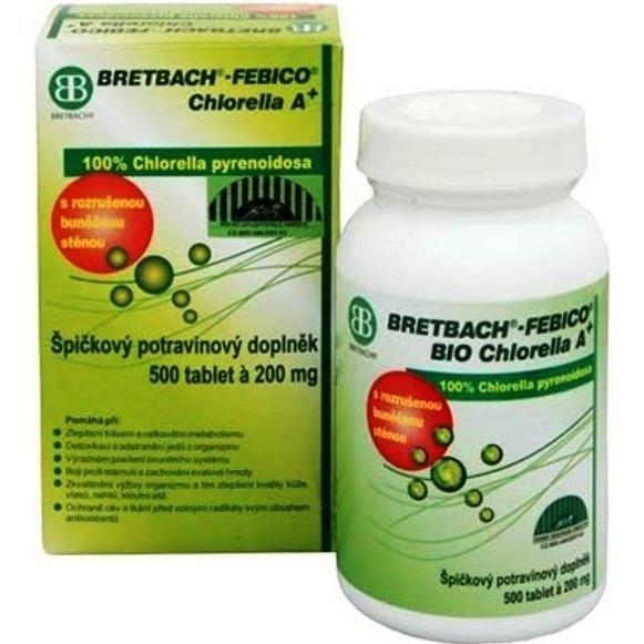 Chlorella A+ BIO BRETBACH-FEBICO tbl.500