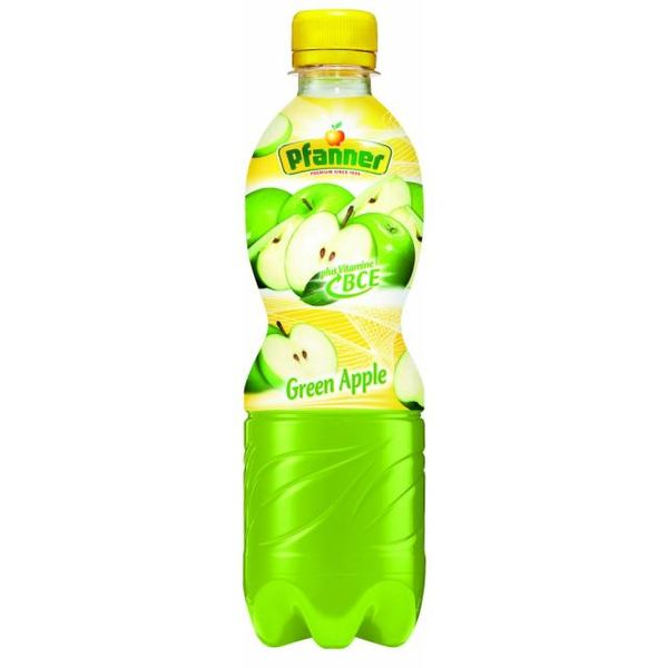 PFANNER BCE Zelené jablko 0.5l PET