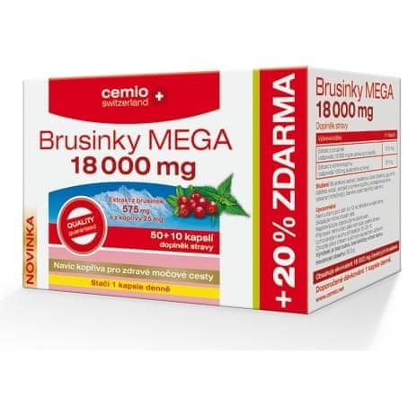 Cemio Brusinky MEGA 18000 cps.50+10 ČR-SK