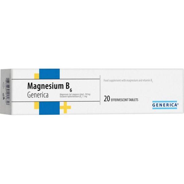Magnesium B6 Generica eff.tbl.20