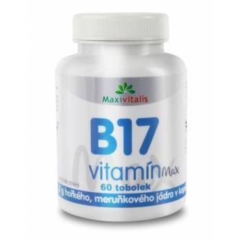 Maxivitalis Vitamín B17 500mg 60 tobolek