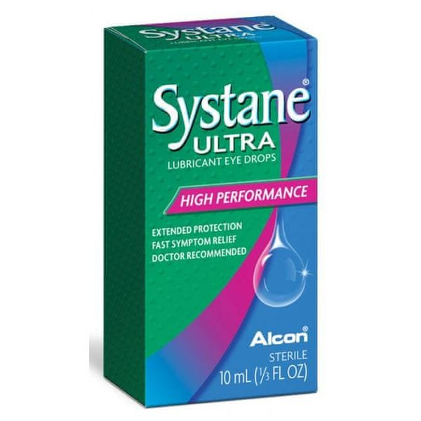 Systane Ultra Zvlhčující oční kapky 10ml