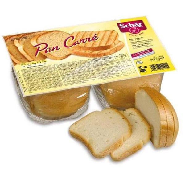 SCHAR PAN CARRÉ chléb speciální bez lepku 400g