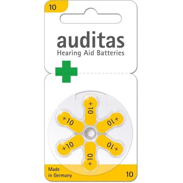 Baterie sluch. VARTA auditas PR70 typ10 žlutá 6ks