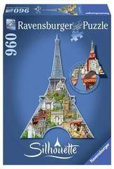 Ravensburger Eiffelova veža, Paríž - tvarové