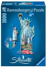 Ravensburger Socha Svobody, New York - tvarové