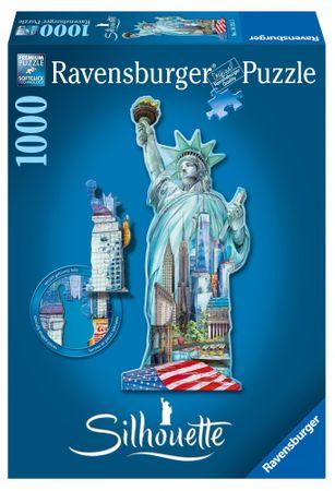 Ravensburger Sziluett puzzle, Szabadság-szobor (New York)