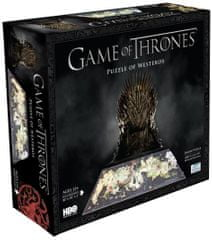 4D Cityscape Puzzle Gra o tron - Game of Thrones