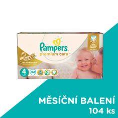 Pampers plienky PremiumCare 4 Maxi - 104 ks