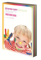 Papír kopírovací EKO colour Master A4, 80g duha mix 10 barev - 100 listů