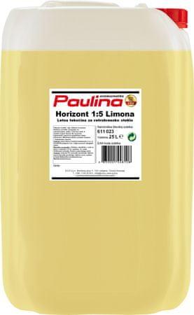 Paulina Horizont letna tekočina za vetrobransko steklo 1:5 Limona 25L