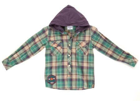 Primigi chlapecká košile s kapucí 116 zelená