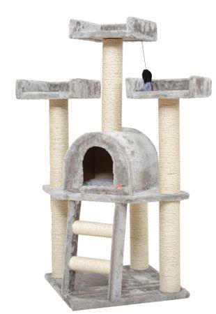 X-Pets Miejsce zabaw i odpoczynku dla kota - Gandalf - szare