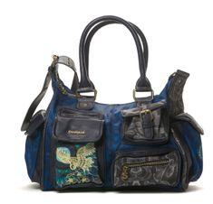 Desigual torebka damska niebieski