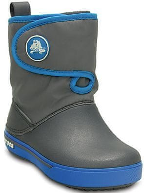 Crocs Crocband II.5 Gust Boot Kids Charcoal/Ocean 23-24 (C7)