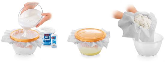 Tescoma Súprava na prípravu krémového syra DELLA CASA