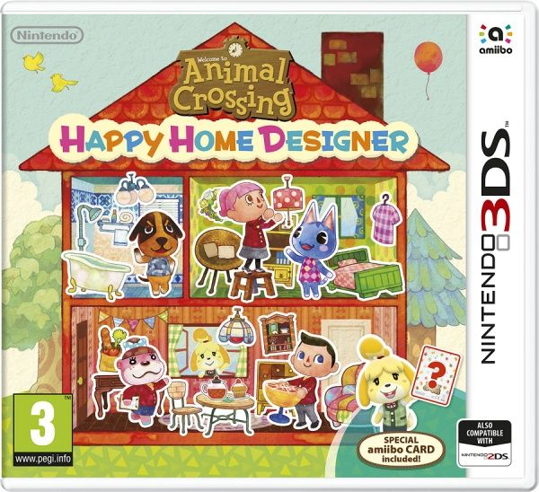 Nintendo 3DS Animal Crossing: Happy Home Designer + karta