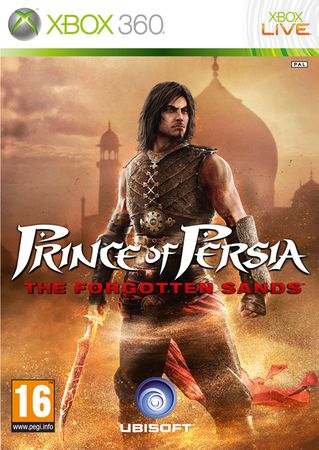 Ubisoft Prince Of Persia The Forgotten Sands,Xbox 360