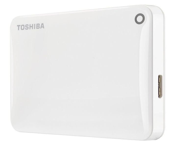 "TOSHIBA Canvio Connect II 2TB / Externí / USB 3.0 / 2,5"" / White (HDTC820EW3CA)"