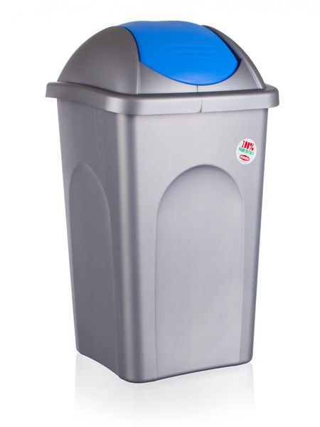 Stefanplast Odpadkový koš, 60 litrů, modrá