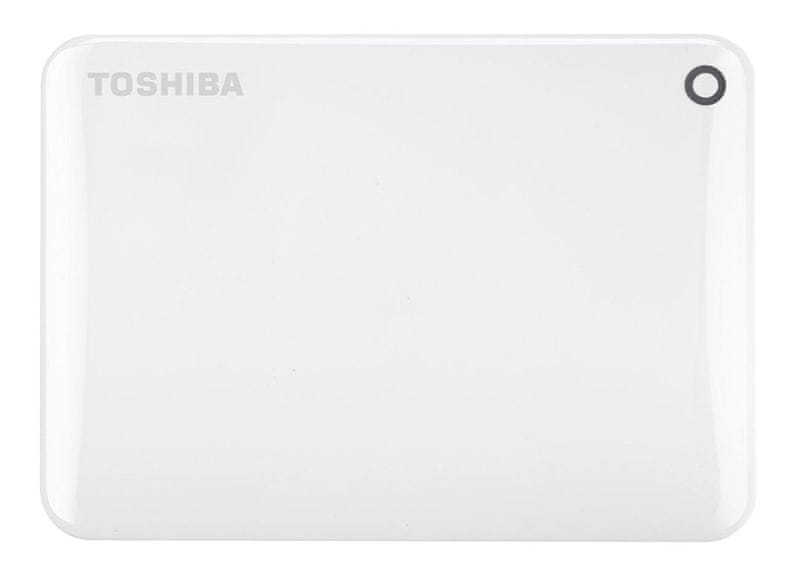 "TOSHIBA Canvio Connect II 1TB / Externí / USB 3.0 / 2,5"" / White (HDTC810EW3AA)"