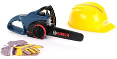 Klein Bosch motorová píla s helmou a rukavicami Profi