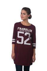 Franklin&Marshall dámské šaty s 3/4 rukávem