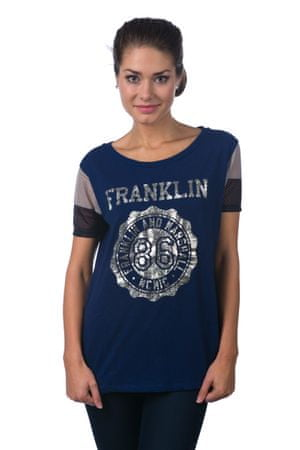 Franklin&Marshall női póló L kék