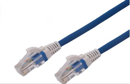 Brand-Rex mrežni kabel UTP CAT. 5e patch LSOH, 1 m, moder