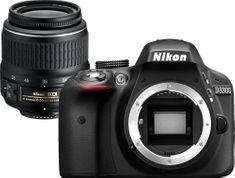 Nikon lustrzanka cyfrowa D3300 + 18-55 DX II