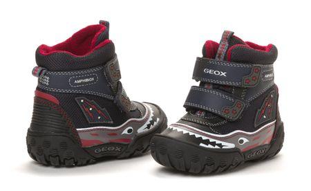 Geox chlapecká zimní kotníčková obuv 24 tmavě modrá  10bcc02eb3