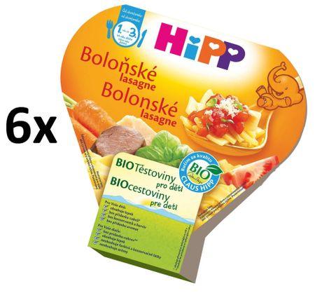 HiPP BIO Boloňské lasagne - 6x250g