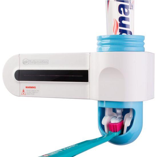 Helpmation Dávkovač zubní pasty a sterilizér kartáčků GFS-302